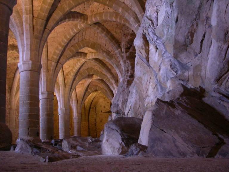 Chillon-Castle crypt