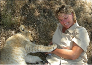 tracy and lion 1