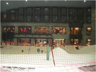 view of mall